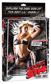 PAPUSA GONFLABILA JESSICA SIN CITY LOVE DOLL
